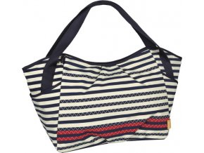 Lässig 4family Casual Twin Bag 2017 Striped zigzag navy