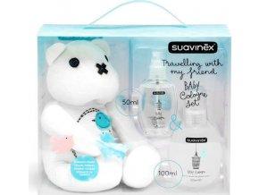 Suavinex SUAVINEX   SET BABY COLOGNE Parfém a méďa