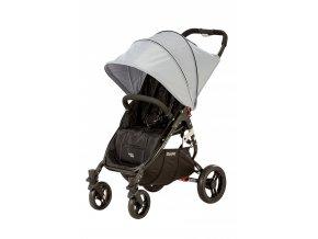 valco baby Kočárek sportovní - Valco SNAP 4 BLACK s polohovaním - šedý 2019