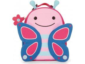 Skip Hop Zoo batůžek svačinový - Motýlek 3+