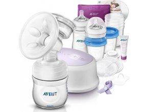 Philips AVENT Sada pro kojení s odsávačkou elektrickou Natural nová