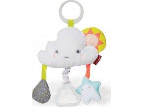 Skip Hop Hračka na C-kroužku Silver Lining Cloud - Mráček 0m+