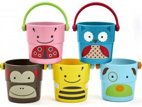 Skip Hop Zoo hračka do vody - Sada kbelíků 9m+