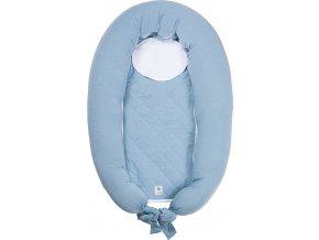 EasyGrow Kojicí polštář & hnízdo pro miminko MUM & ME Blue