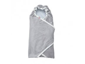 LODGER Wrapper Newborn Scandinavian Flannel Mist