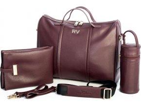 SHOM Přebalovací taška Roberto Verino Red Wine