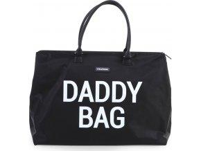 Childhome Přebalovací taška Daddy Bag Big Black