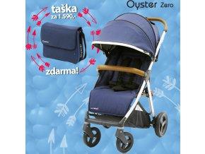 BabyStyle Oyster Zero kočárek 2019 + taška ZDARMA