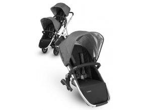 UPPAbaby VISTA přídavný sportovní sedák (varianta Jordan - Black-Grey Melange)