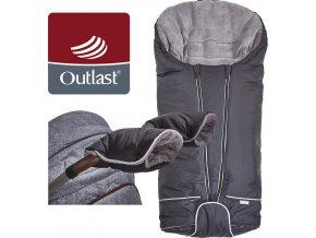Little Angel Set svítící Fusak Exclusive Outlast a rukavice černá/šedá