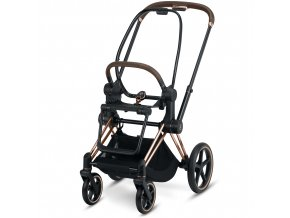 Cybex Priam Frame with Seat unit Lux Seat Rosegold.15445a