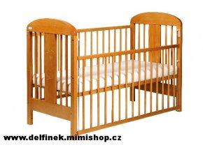 Puppolina - Dřevěná postýlka Olina - základní provedení > varianta (varianta buk)