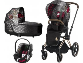 Kočárek CYBEX Set Priam Lux Seat Fashion Rebellious 2020