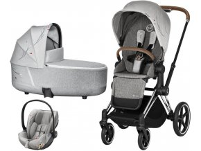 Kočárek CYBEX Set Priam Lux Seat Fashion Koi 2021