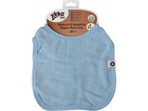 Bambusový bryndáček XKKO BMB - Baby Blue