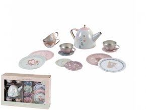.kovovy cajovy set little dutch
