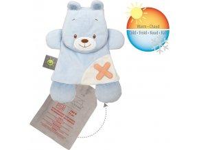 Nattou Hračka mazlíček s termoforem Buddiezzz medvěd