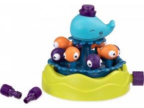 B-Toys Stříkající velryba s vodotryskem