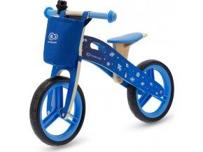 Kinderkraft Odrážedlo Runner Galaxy Blue s doplňky Kinderkraft 2019