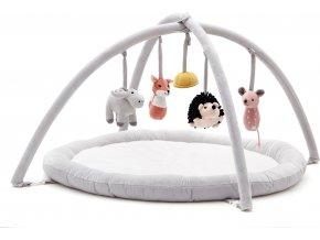 Kids Concept Hrací deka s hrazdou Edvin