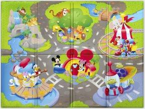 Disney baby Podložka pěnová skládací Disney Pals 120 x 89cm 6m+