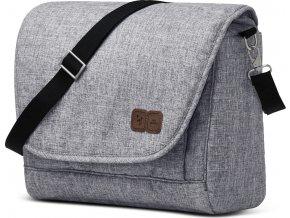 ABC Design Taška na pleny Easy 2020 (Barva Graphite grey)