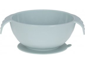 Lässig 4babies                                                                   Bowl Silicone blue with suction pad