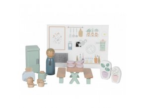 Little Dutch Dřevěný nábytek pro panenky kuchyňka