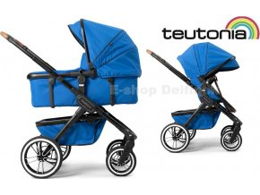 Teutonia TRIO Black /Urban Blue 2020