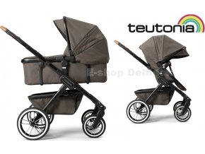 Teutonia TRIO Black /Urban Coyote 2020