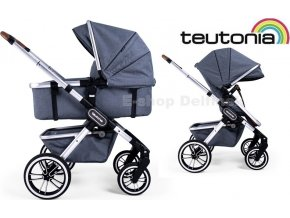 Teutonia TRIO Silver /Melange Grey 2021