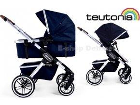 Teutonia TRIO Silver /Melange Navy 2021