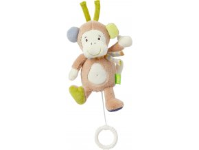 BABY FEHN Hrací hračka mini opička