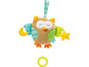 BABY FEHN Hrací hračka sova