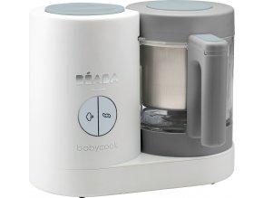 Beaba Parní vařič + mixér BABYCOOK Neo Grey White