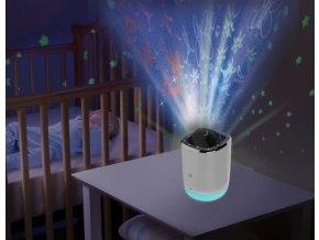 MOTOROLA Chůvička a noční projektor s hudbou