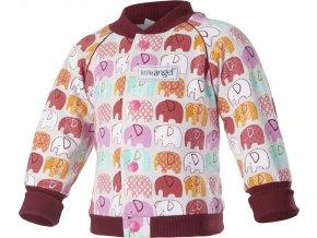 Mikina SLONÍK - růžová sloník
