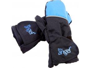 Rukavice s palcem Outlast® - černá/modrá