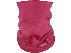 Nákrčník dětský smyk Outlast® - sytě růžová