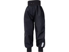 Kalhoty softshell tenké náplet - černá