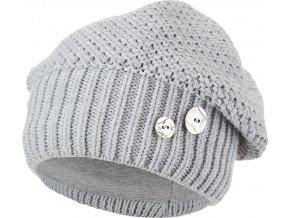 Čepice pletená baret Outlast ® - sv.šedá
