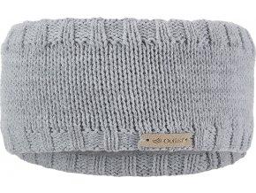 Čelenka pletená hladká Outlast ® - sv.šedá