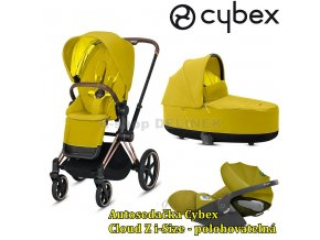 Cybex Priam Rosegold 2020 Mustard Yellow.
