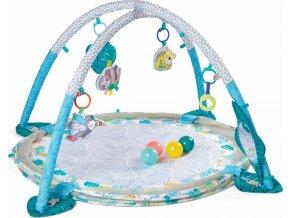 Infantino Hrací deka s hrazdou a ohrádkou 3v1 Jumbo