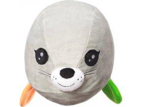 BabyOno Hračka polštářek C-MORE tuleň Lucy 18x22cm