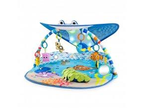 Disney baby Deka na hraní světelná Hledá se Nemo - Pan Rajka 0m+ 2019