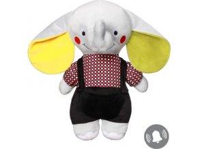 BabyOno Hračka plyšová C-MORE slon Andy 50x48cm