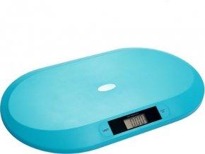 BabyOno Váha elektronická pro děti do 20 kg modrá