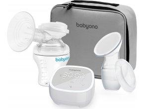 BabyOno Odsávačka mateřského mléka elektronická -5 režimů BabyOno