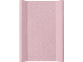 Ceba Podložka přebalovací 2-hranná MDF 70x50 cm CARO Pink Ceba